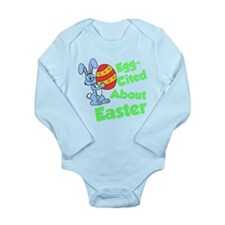 Egg-Cited About Easter Body Suit