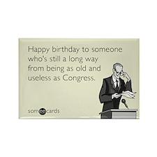 Useless As Congress Rectangle Magnet