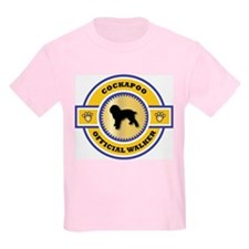 Cockapoo Walker Kids T-Shirt