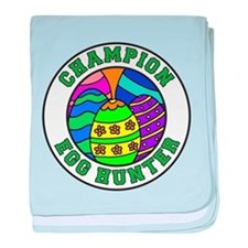 Champion Egg Hunter baby blanket