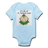 Baby 1st St. Patrick's Day Infant Bodysuit