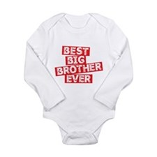 BEST BIG BROTHER EVER Body Suit