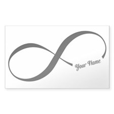 Infinity Word CUSTOM TEXT Decal