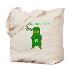 Custom Irish Ninja Tote Bag