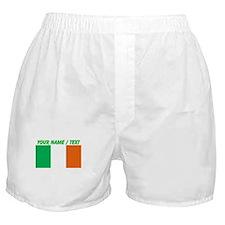 Custom Ireland Flag Boxer Shorts