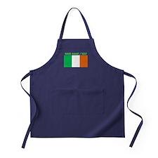 Custom Ireland Flag Apron (dark)