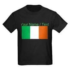 Custom Ireland Flag T-Shirt