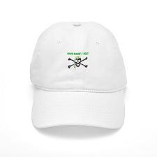 Custom Irish Pirate Skull And Crossbones Baseball