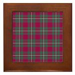 Tartan - MacGregor Framed Tile