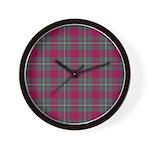 Tartan - MacGregor Wall Clock
