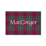 Tartan - MacGregor Rectangle Magnet (100 pack)