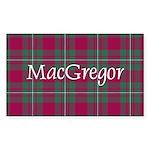 Tartan - MacGregor Sticker (Rectangle 10 pk)