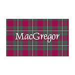 Tartan - MacGregor Rectangle Car Magnet