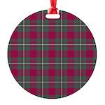 Tartan - MacGregor Round Ornament