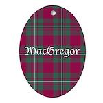 Tartan - MacGregor Ornament (Oval)