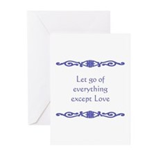 Let Go Greeting Cards