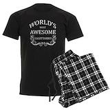 Birthday Men's Pajamas Dark