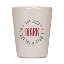MarkManMythLegend Shot Glass