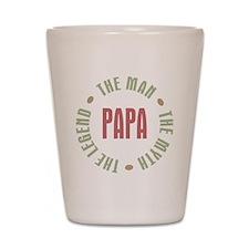 Papa Man Myth Legend French Shot Glass