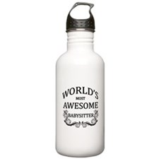 World's Most Awesome Babysitter Water Bottle