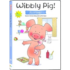 Wibbly Pig: Playtime with Wibbly DVD