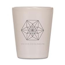 vector equilibrium Shot Glass