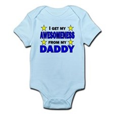 Awesomeness From My Daddy Body Suit