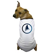 Shark Fin Logo Dog T-Shirt