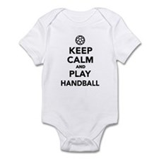 Keep calm and play Handball Infant Bodysuit