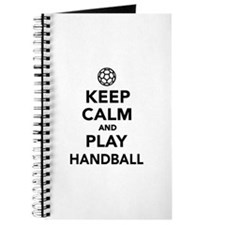 Keep calm and play Handball Journal