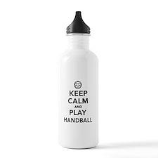 Keep calm and play Handball Water Bottle