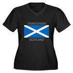 Tannochside Scotland Women's Plus Size V-Neck Dark