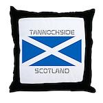 Tannochside Scotland Throw Pillow