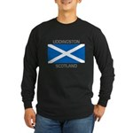 Uddingston Scotland Long Sleeve Dark T-Shirt