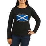 Uddingston Scotland Women's Long Sleeve Dark T-Shi