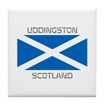Uddingston Scotland Tile Coaster