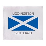 Uddingston Scotland Throw Blanket