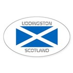 Uddingston Scotland Sticker (Oval 50 pk)