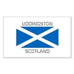 Uddingston Scotland Sticker (Rectangle 50 pk)