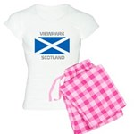 Viewpark Scotland Women's Light Pajamas