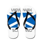 Viewpark Scotland Flip Flops