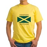 Viewpark Scotland Yellow T-Shirt