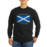 Viewpark Scotland Long Sleeve Dark T-Shirt