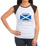 Viewpark Scotland Women's Cap Sleeve T-Shirt