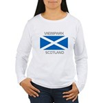 Viewpark Scotland Women's Long Sleeve T-Shirt