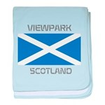 Viewpark Scotland baby blanket