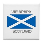 Viewpark Scotland Tile Coaster