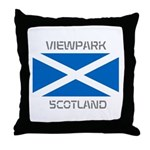Viewpark Scotland Throw Pillow
