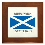 Viewpark Scotland Framed Tile