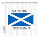 Viewpark Scotland Shower Curtain